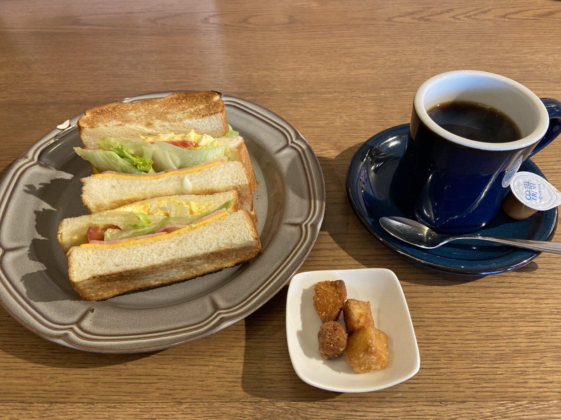 空乃珈琲 サンドイッチ