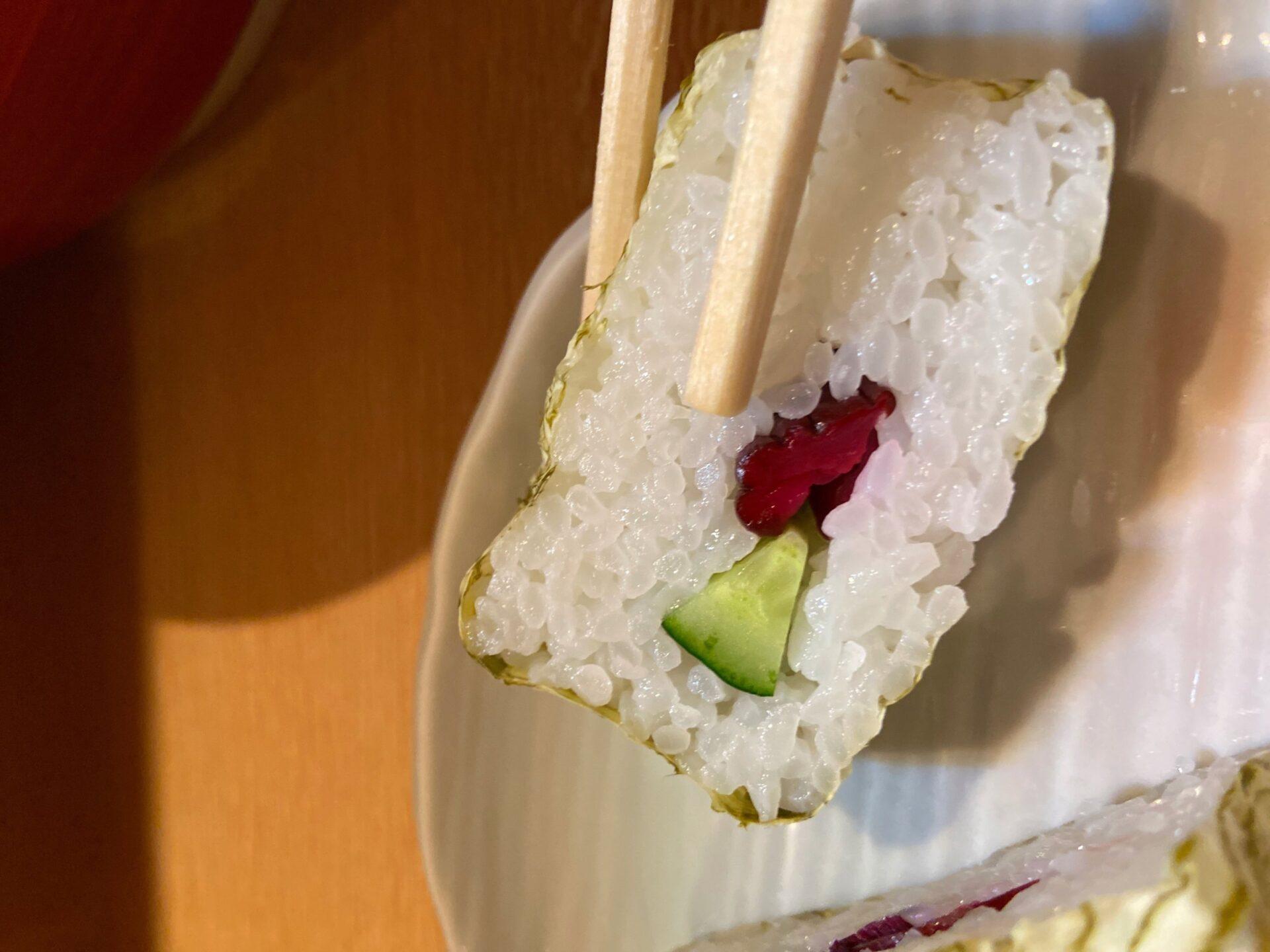 宇奈月 おぼろ巻き寿司