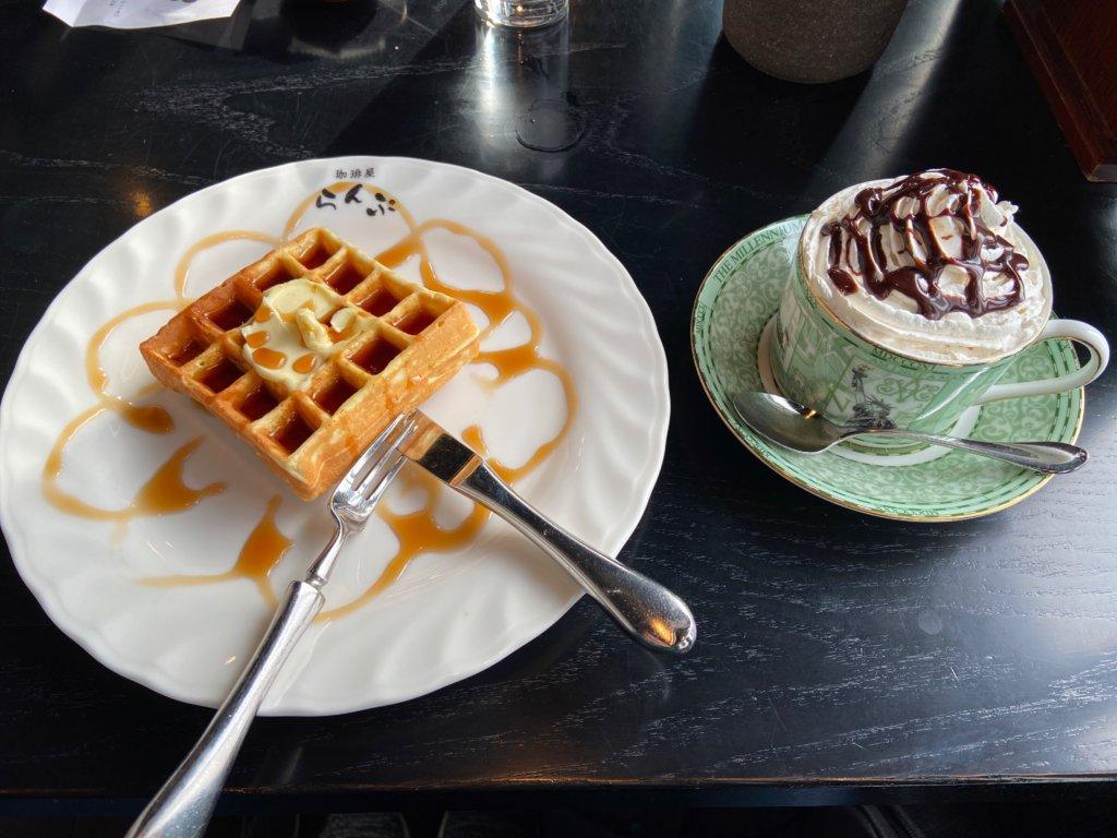 【珈琲屋らんぷ/南草津】古民家風の内装が評判のいい落ち着いた喫茶店