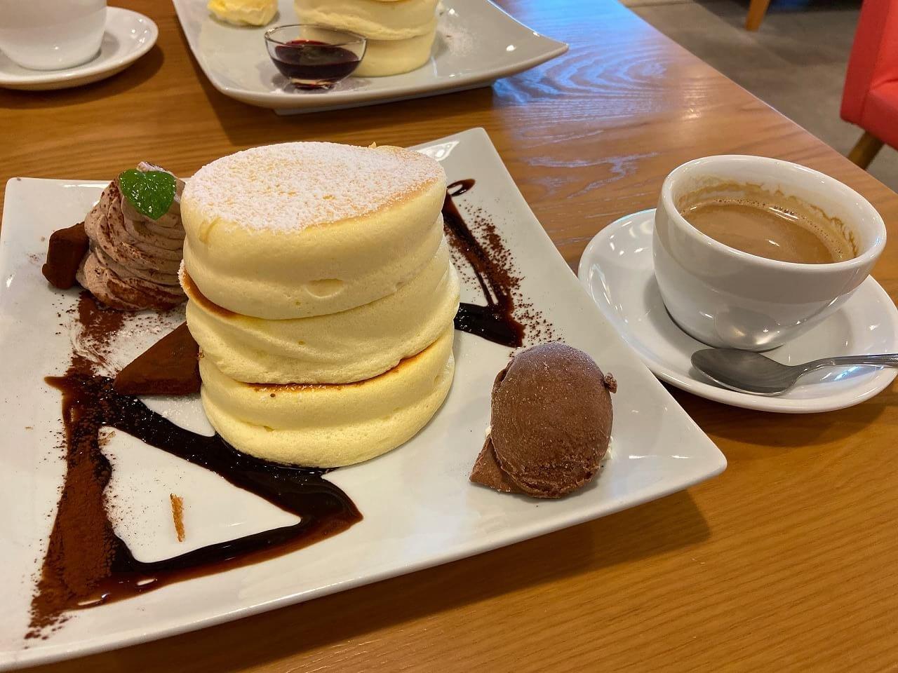 fleur(フルール) 恋する大人のショコラパンケーキ
