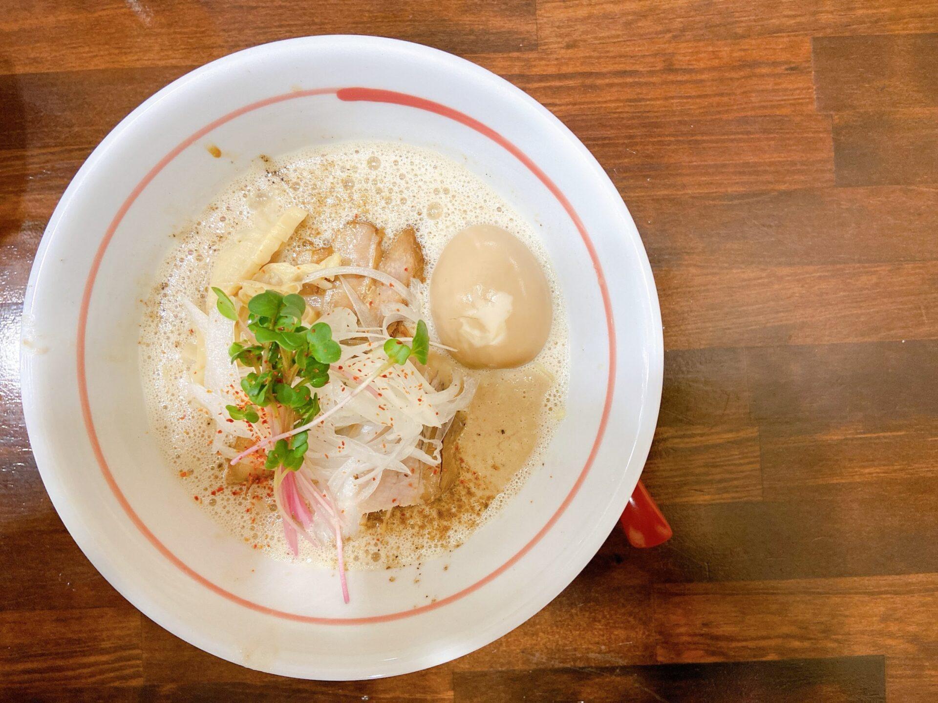 麺屋そらどり こってり昊鶏魚介麺