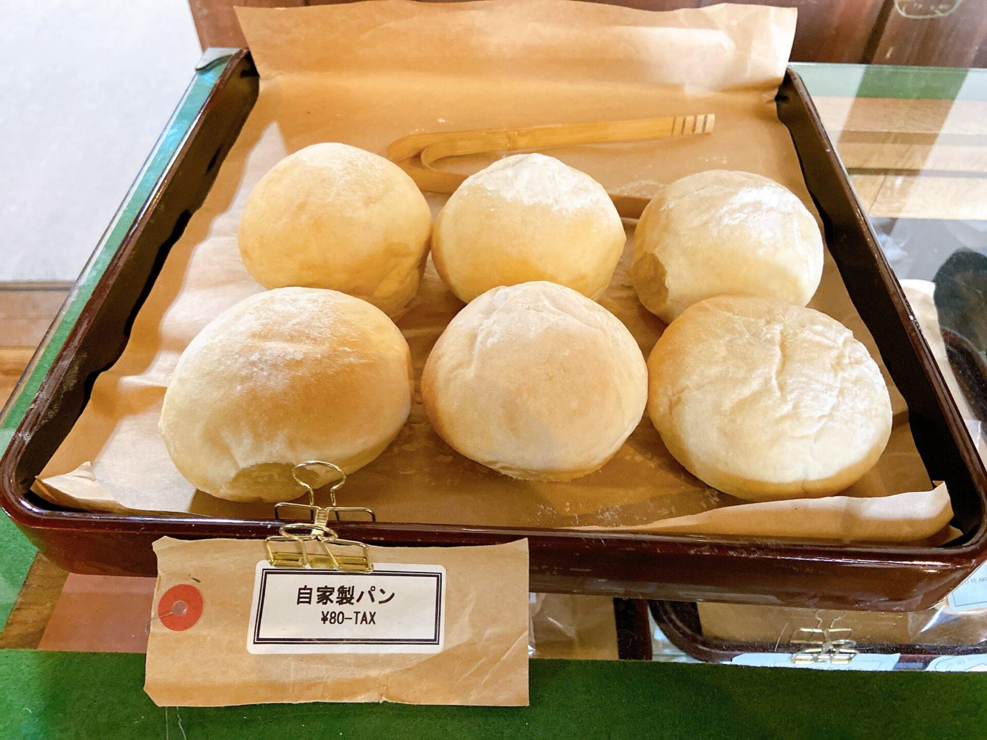 ハコテアコ 自家製パン