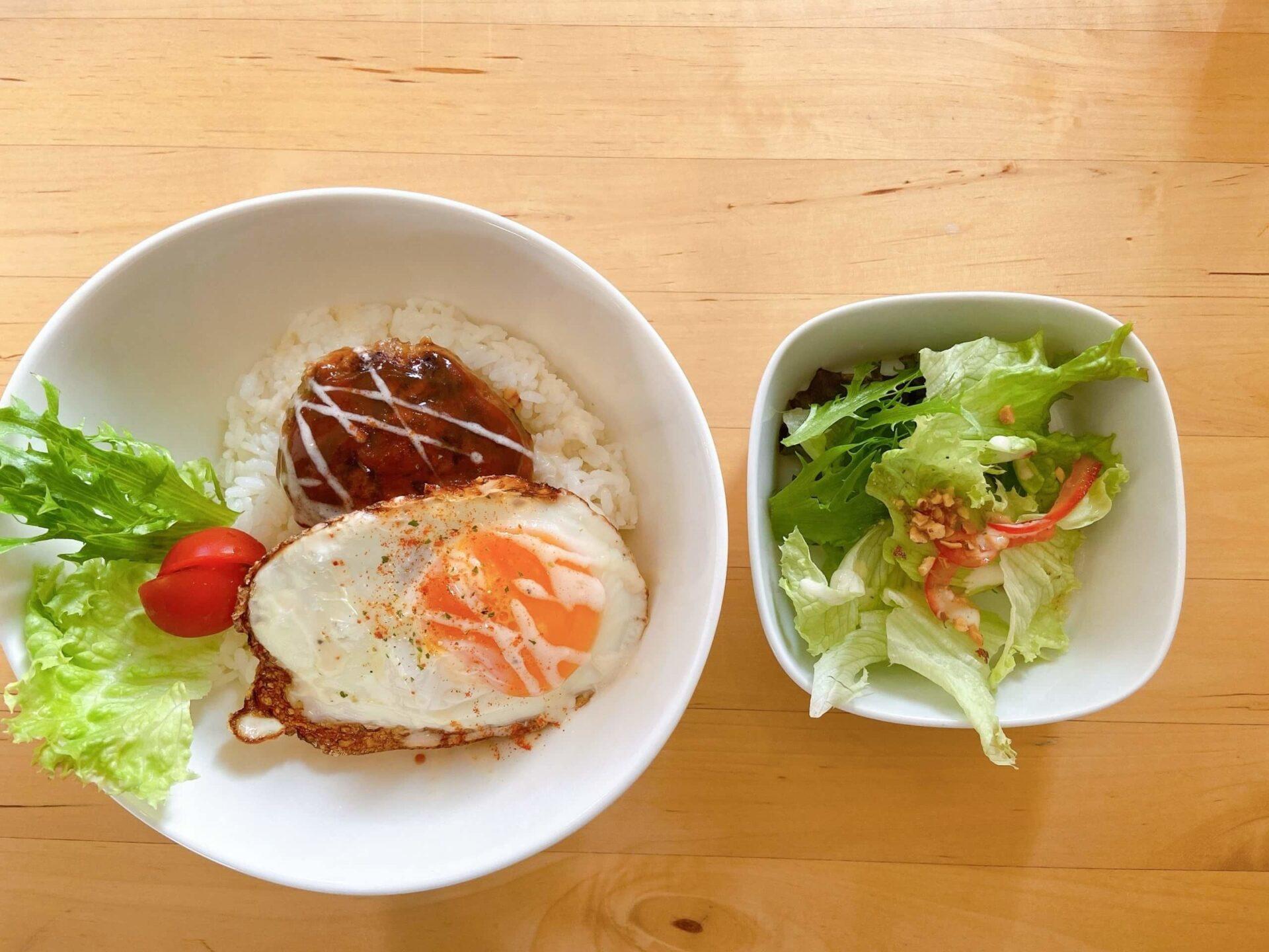 ノラカフェ ロコモコ丼