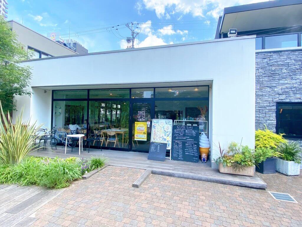 【cafe tori(カフェトリ)/草津市】駅前のネイチャーカフェのランチが便利♪