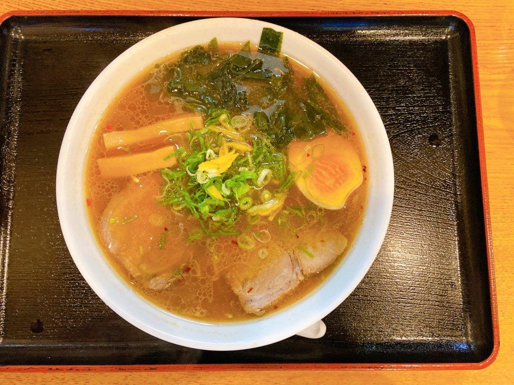 【葉隠│甲賀市】水口にある昔ながらの懐かしい中華そばを食べてきました