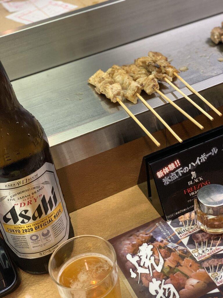 【やきとりの名門秋吉 大津店】安くて美味しい炭火焼き鳥!