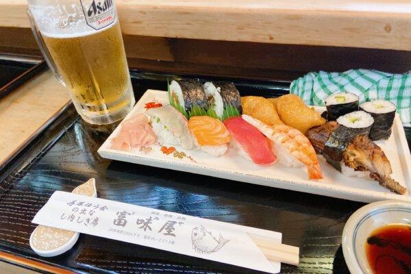 【富味屋|甲南】ふらっと寄りたいあたたかい寿司屋。大将が握る寿司が美味い!